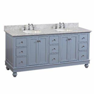 "Bella 72"" Double Bathroom Vanity"