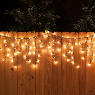 The Holiday Aisle LED 70 Light Faceted Bulb Icicle Light