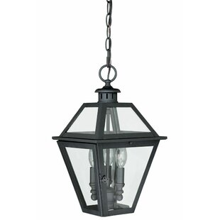 Sol 72 Outdoor Gravesend 3-Light Outdoor Hanging Lantern