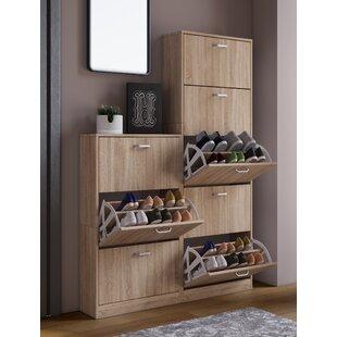 Sipos 18 Pair Shoe Storage Cabinet By Mercury Row