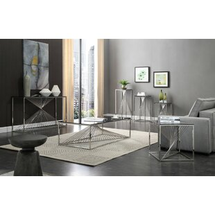 Willa Arlo Interiors Kendra 6 Piece Coffee Table Set