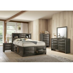 Latitude Run Weidman Storage Platform Configurable Bedroom Set