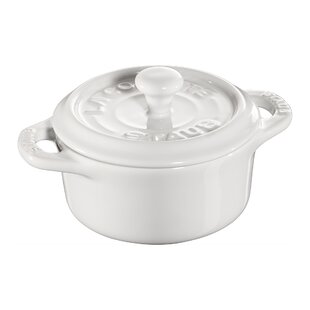 Staub Ceramics 0.25 Qt. Petite Pumpkin Round Dutch Oven (Set of 3)