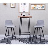 Winegar 26 Swivel Bar Stool (Set of 2) by Mercer41