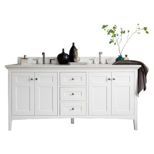 Palisades 71 Double Bathroom Vanity Base by James Martin Furniture
