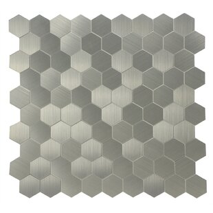 11 25 X 5 L Stick Mosaic Tile In Chrome