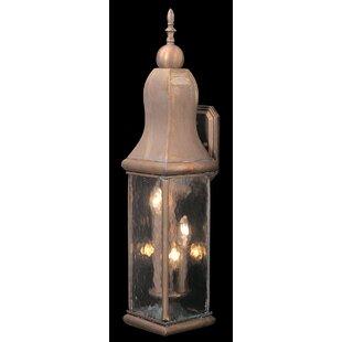 Astoria Grand Madge 3-Light Outdoor Wall Lantern