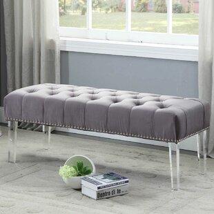 Everly Quinn Hanover Upholstered Bench