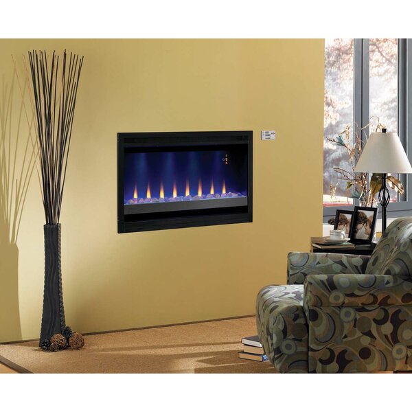 Classic Flame Builder Box Contemporary Wall Mount Electric