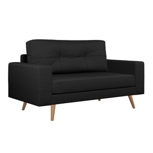 Find for Binns Cross Weave Loveseat by Corrigan Studio Reviews (2019) & Buyer's Guide
