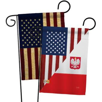 Collectables Usa And Poland Friendship Polish American Flag Polyester 3 X 5 Foot New Other Collectable Flags Utit Vn