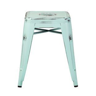Laronda Distressed 18 Bar Stool Williston Forge
