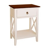 Chmura Unique End Table with Storage by Charlton Home®
