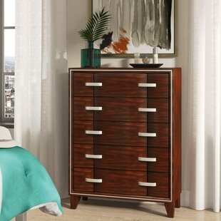 Brayden Studio Lumley Contemporary 5 Drawer ..