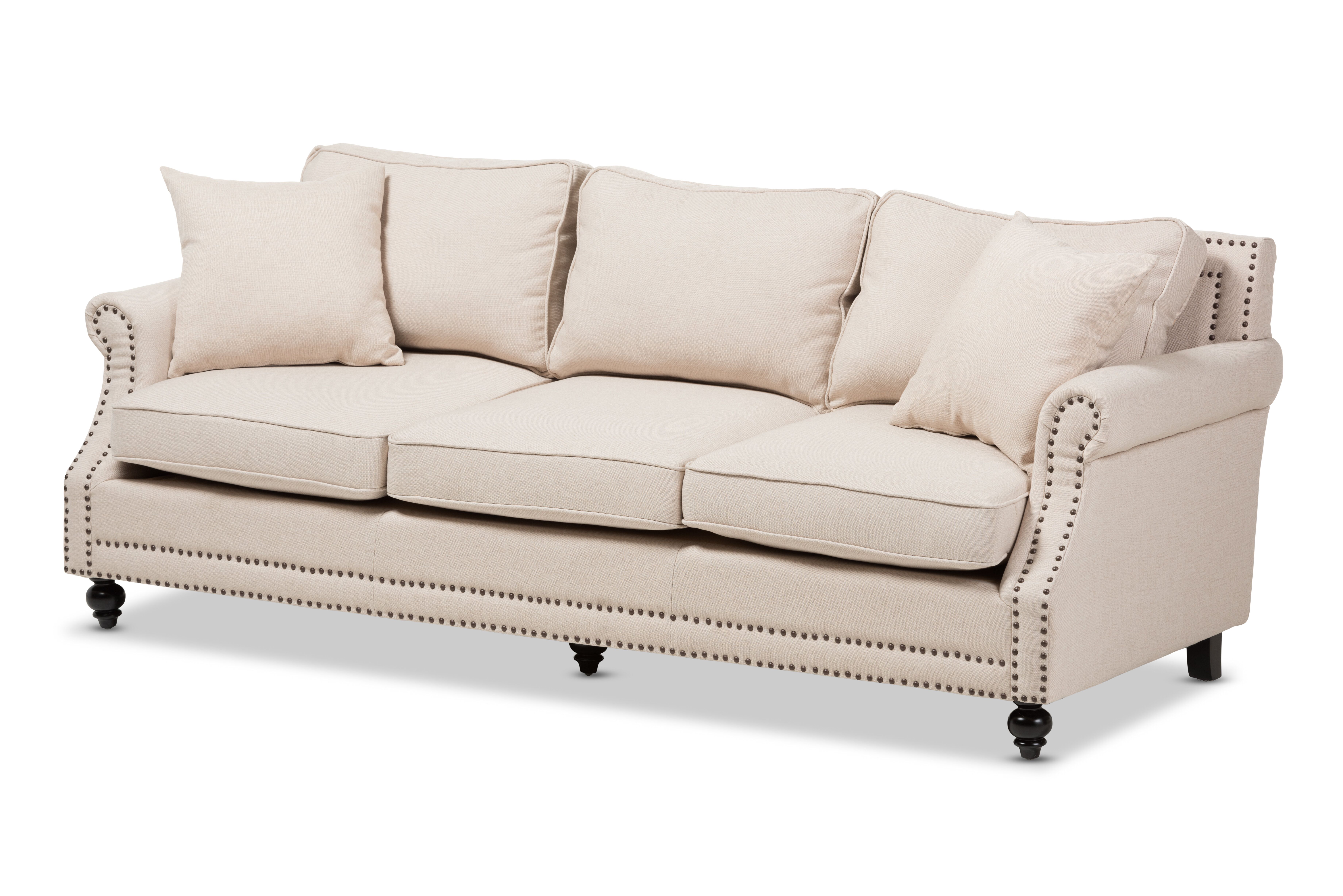 Wholesale Interiors Baxton Studio Mckenna Sofa U0026 Reviews | Wayfair