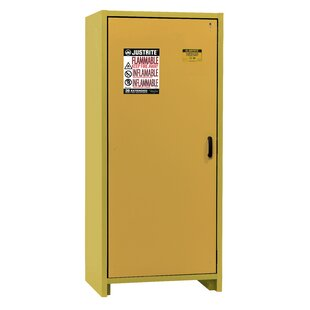 76.65H x 34.02 W x 24.41D  2 Door 30-Minute EN Flammable Safety Cabinet by Justrite