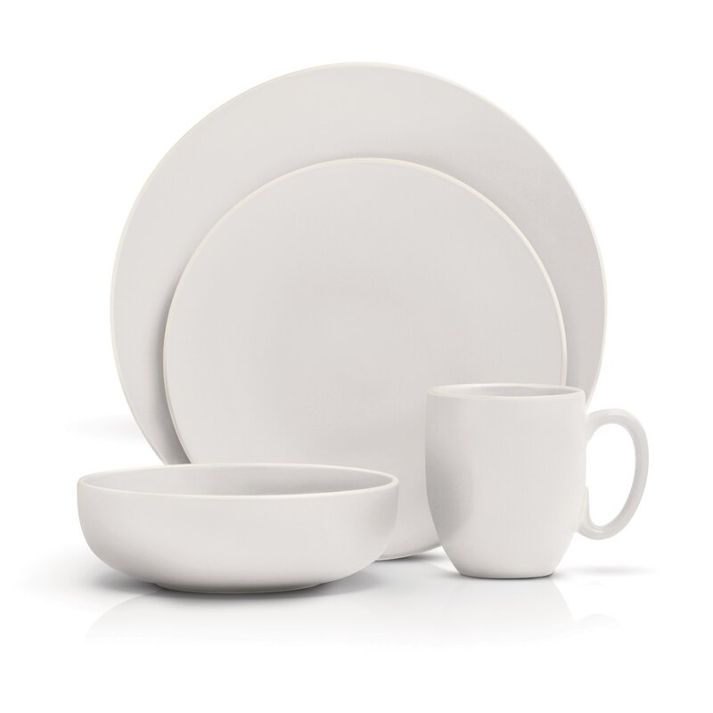 Vera Wang Vera Color 16 Piece Dinnerware Set, Service for 4 ...