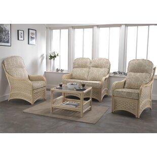 Baskerville 4 Piece Sofa Set by Beachcrest Home