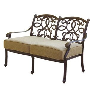 Windley Loveseat with Cushion by Fleur De Lis Living