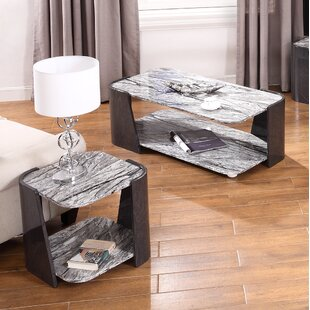 Review McLaglen 2 Piece Coffee Table Set