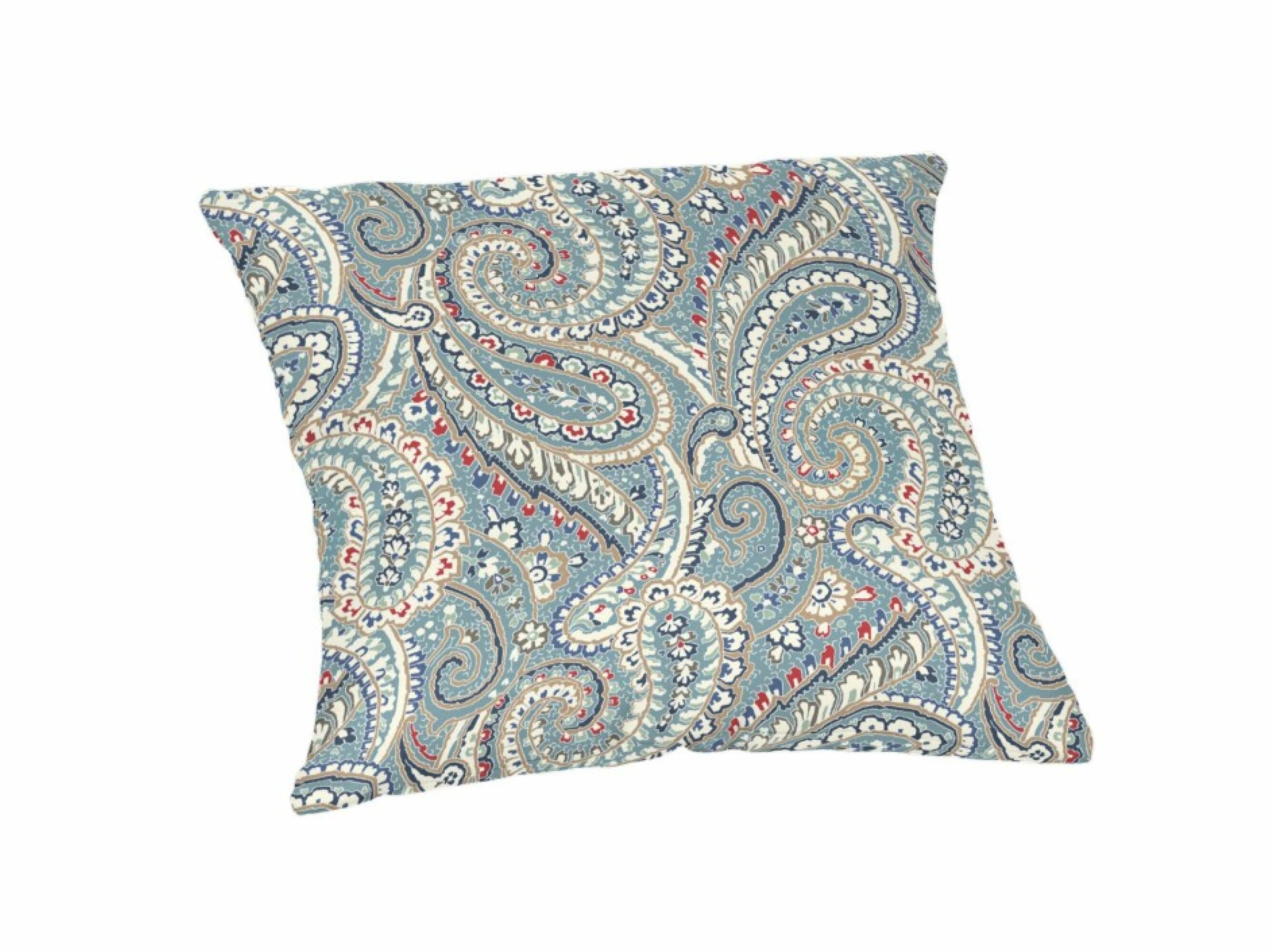 Charlton Home Hoffman Indoor Outdoor Paisley Throw Pillow Reviews Wayfair
