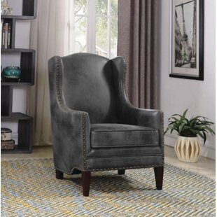 Leslee Wingback Chair by Canora Grey