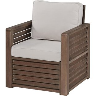 Eddie Patio Chair by Longshore Tides Great price