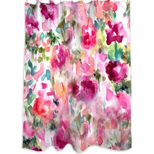 Oliver Gal Home In Wonderland Single Shower Curtain