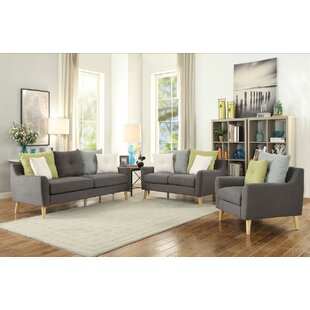 Best Reviews Campbell Configurable Living Room Set by Corrigan Studio Reviews (2019) & Buyer's Guide