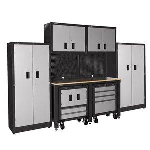 7u0027 H X 10u0027 W X 2u0027 D 10 Piece Garage Storage
