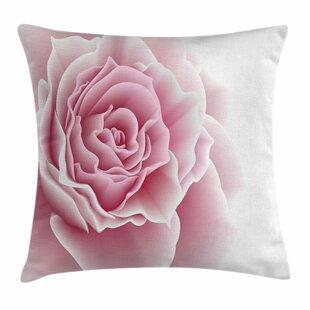 Romantic Bouquet Square Pillow Cover