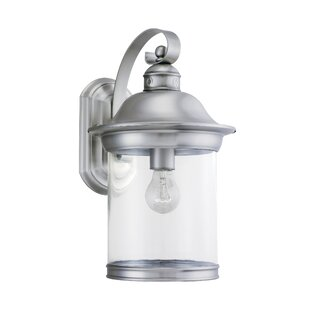 Check Prices Brettany 1-Light Classic Outdoor Sconce By Bloomsbury Market