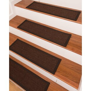 Clarina Brown Stair Tread Set Of 13