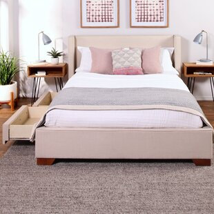 Wayde Upholstered Storage Platform Bed