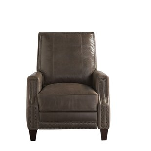 Mancini Leather Recliner by Red Barrel Studio