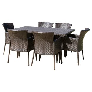 Bittle 7 Piece Dining Set