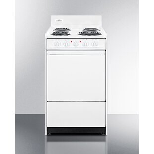Summit 20 Free-standing Electric Range by Summit Appliance