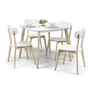 Rhys Dining Set With 4 Chairs By Norden Home