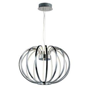 Orren Ellis Alderamin 16-Light LED Globe Chandelier