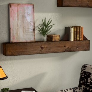 Zimmerman Wood Mantle Floating Shelf