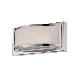 Best Sutterfield 1-Light LED Wall Sconce By Latitude Run