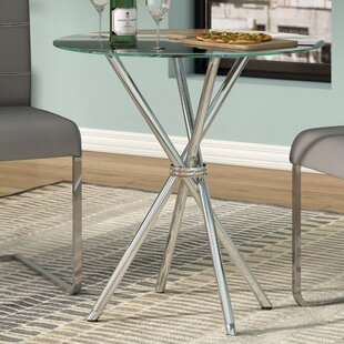 Vince Glass Dining Table by Zipcode Design Savings