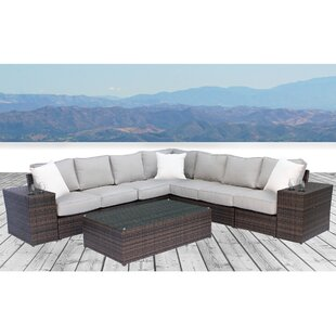 Simmerman 10 Piece Sectional Set with Cushions