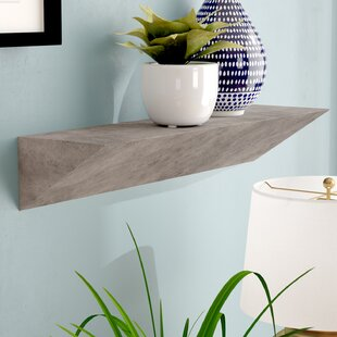 Posada Triangular Ledge Floating Shelf