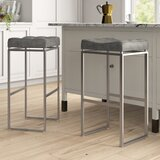 Westbrooks Bar & Counter Stool (Set of 2) by Mercury Row