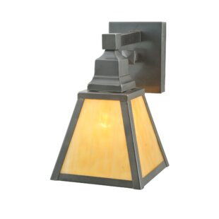 Meyda Tiffany 1-Light Outdoor Wall Lantern