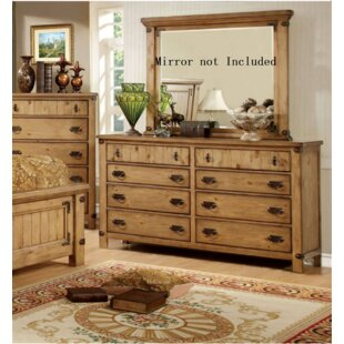 Street 8 Drawer Double Dresser