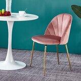 Thorton Velvet Upholstered Side Chair (Set of 2) by Everly Quinn