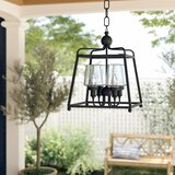 Barnaby 4-Light Outdoor Pendant by Birch Lane™ Heritage