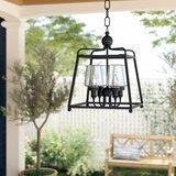 Barnaby 4-Light Outdoor Pendant byBirch Lane™ Heritage